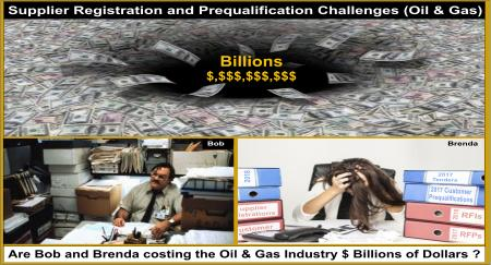 Supplier Registration and Prequalification Challenges Oil Gas Industry