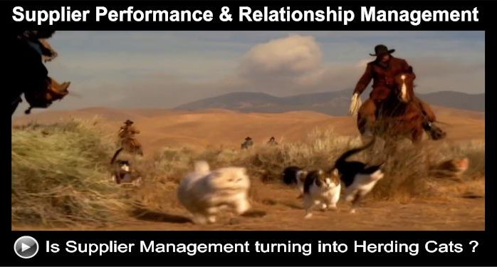 supplier management-is like herding cats-25 reasons for failure